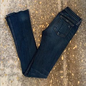 Rag & Bone Stiletto Boot Jeans in Medium Wash